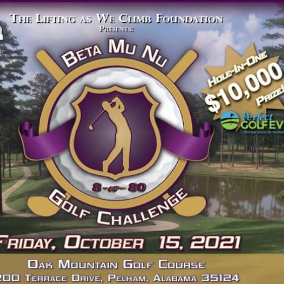 Lifting As We Climb Annual Beta Mu Nu Golf Challenge 2021