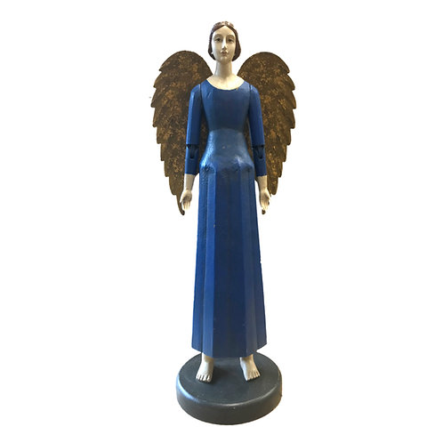 Heirloom Angel Emmanuel in Blue