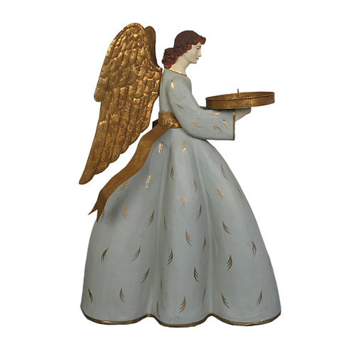 Heirloom Angel Caroline with Gold Ribbon