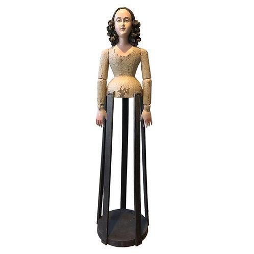 Santos Cage Doll Saint Helen in Ecru
