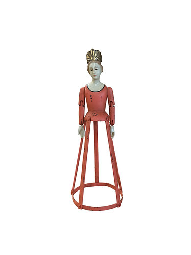 Santos Cage Doll Saint Theresa in Coral