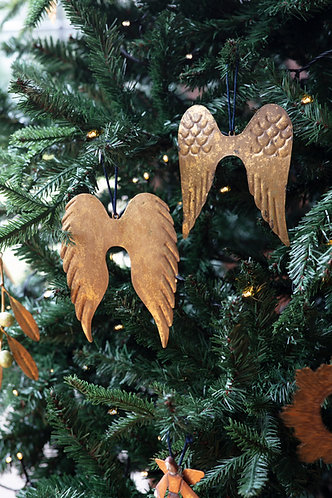 Two Hanging Angel Wings