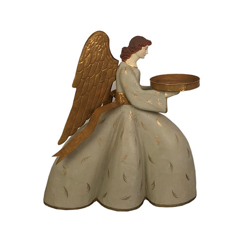 Heirloom Angel Virginia with Gold Ribbon