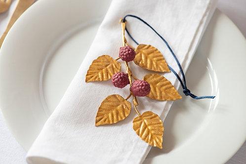 Set of Raspberry Hanging Ornaments