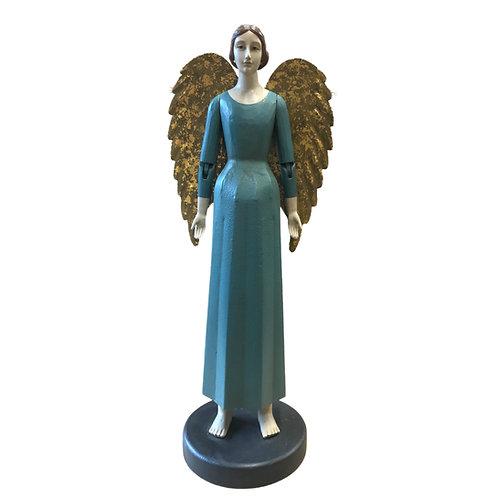 Heirloom Angel Emmanuel in Aqua