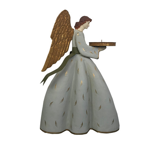 Heirloom Angel Caroline with Olive Ribbon