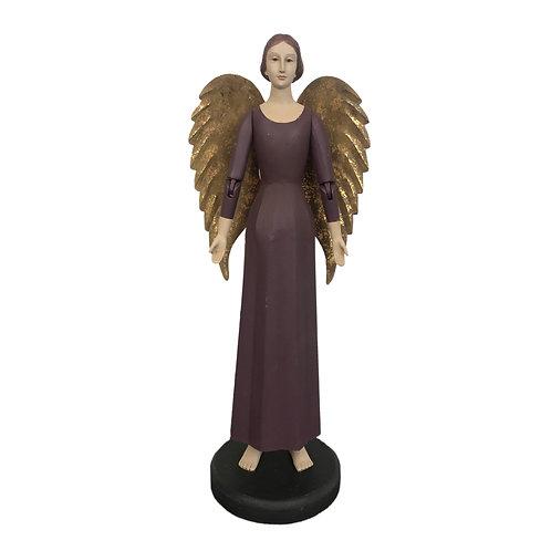 Heirloom Angel Emmanuel in Plum
