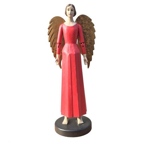 Heirloom Angel Emmanuel in Scarlet Red