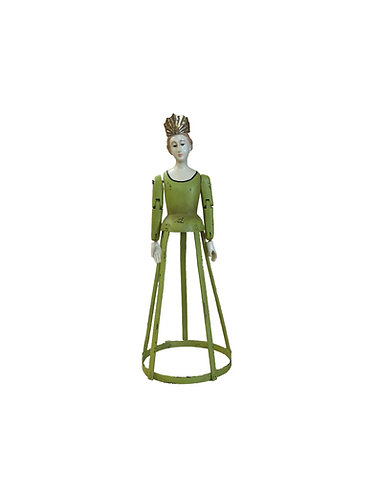 Santos Cage Doll Saint Theresa in Lime