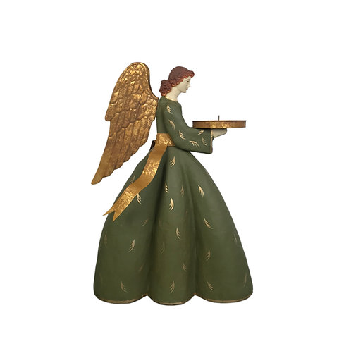 Heirloom Angel Caroline with Olive Dress