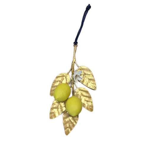 Lemon Branch Ornament