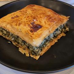 Spanakopita (Spinach & Cheese Pie)