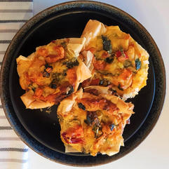 Chicken or Vegetable Quiches