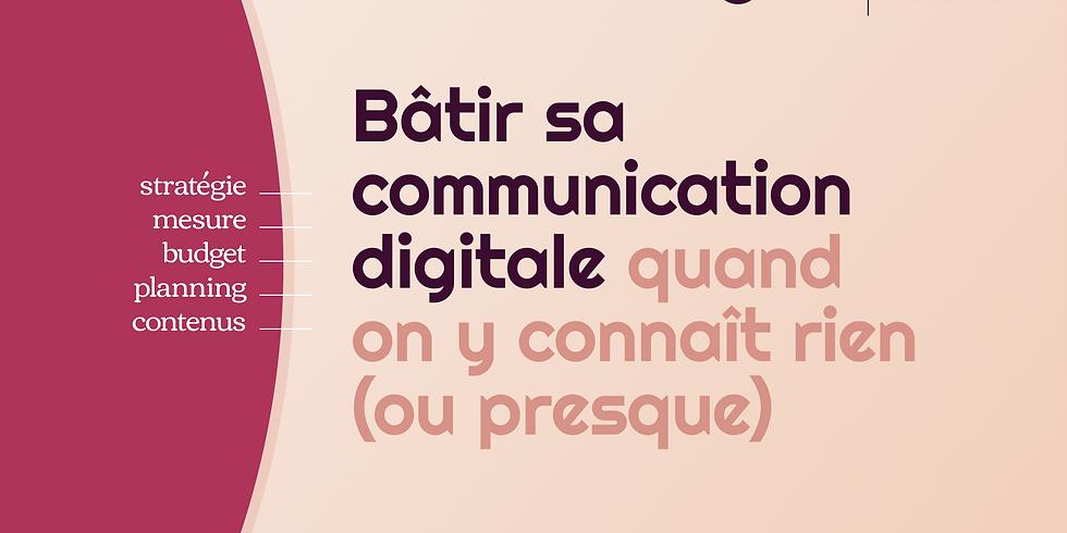 Bâtir sa communication digitale - Nicolas Duvivier