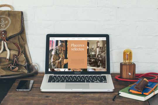Diseño web para Al-Karika