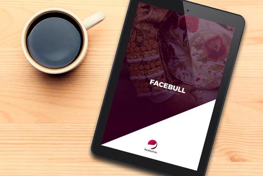 Diseño web y app de Facebull