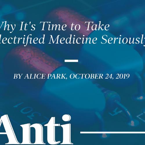 時代雜誌:電子藥物為醫療重大趨勢