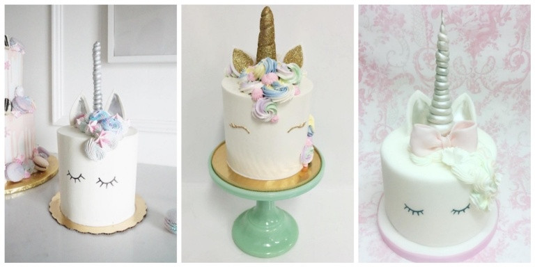 Paleo Unicorn Birthday Cake