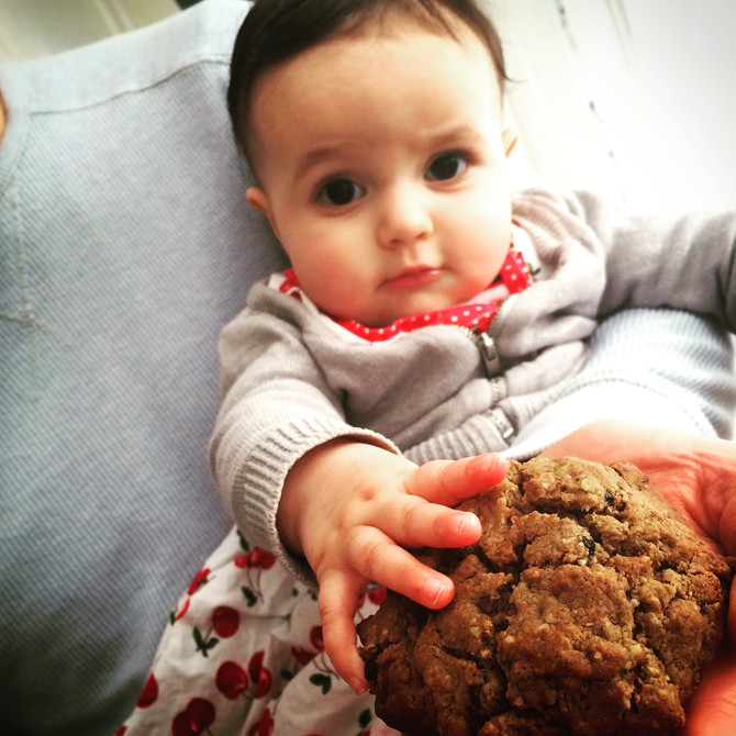Choc Chip Lactation Cookies