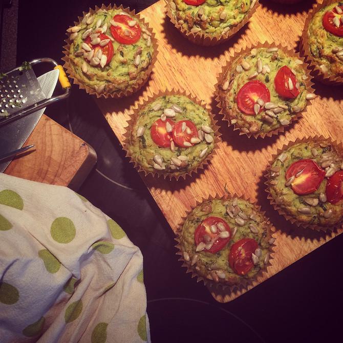 Savory Green Muffins