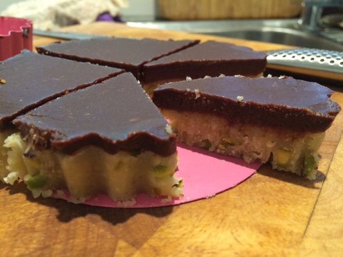 Recipe: Raw Turkish nougat tart
