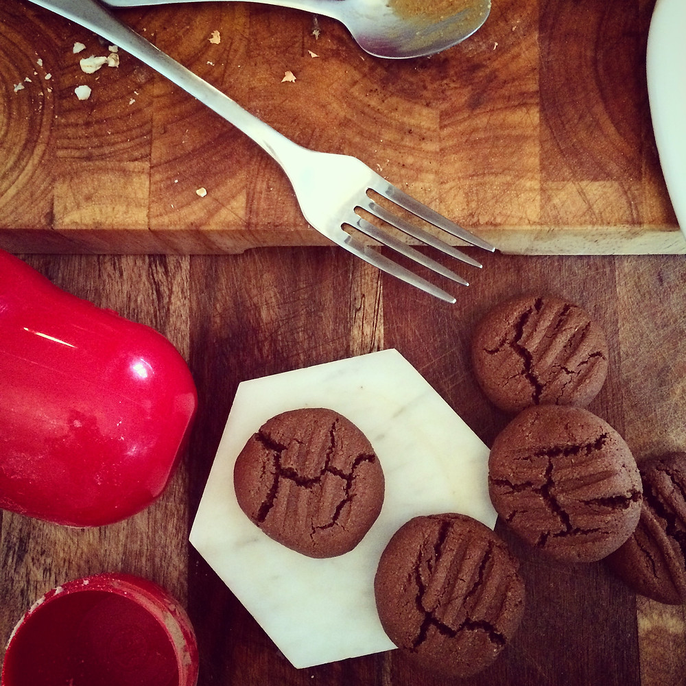Soft Chocolate Cookies - gluten free, dairy free, paleo