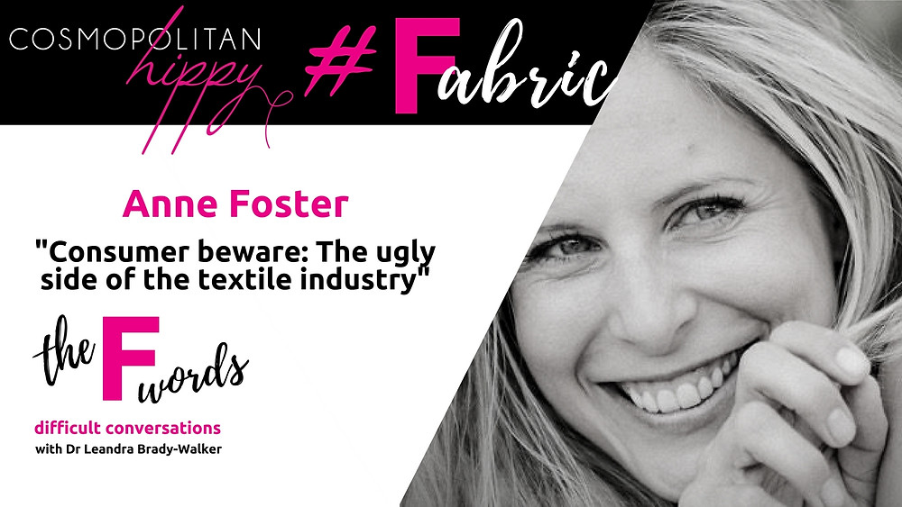 #fabric Anne Foster Elkie and Arc the F words podcast Cosmopolitan Hippy
