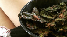 Super Scrummy Kale Chips