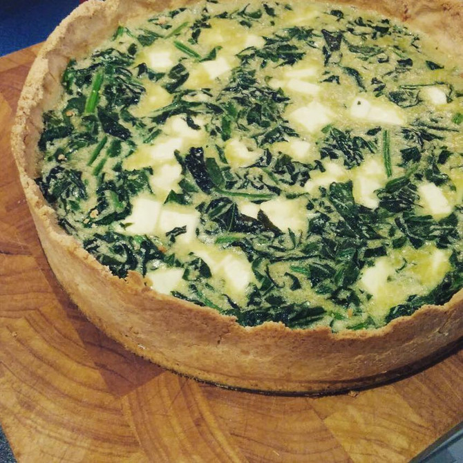 RECIPE: Paleo Quiche (with a crust!!)