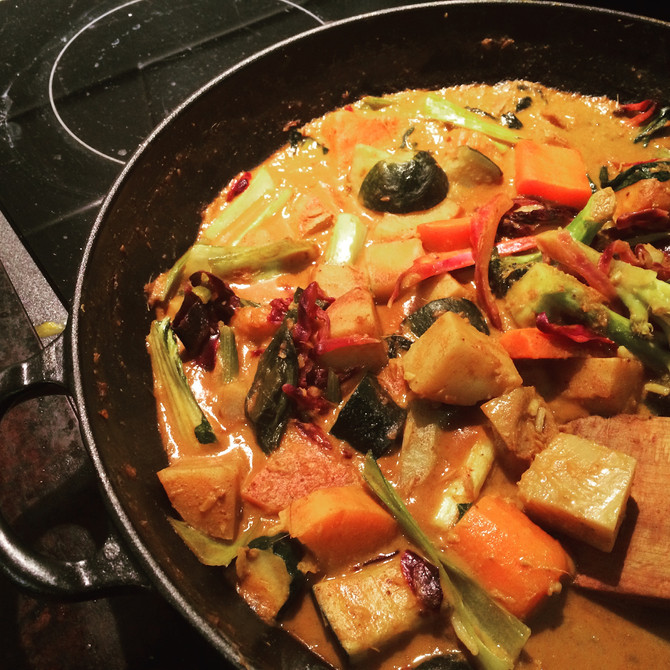 Immune Boosting Veggie Curry