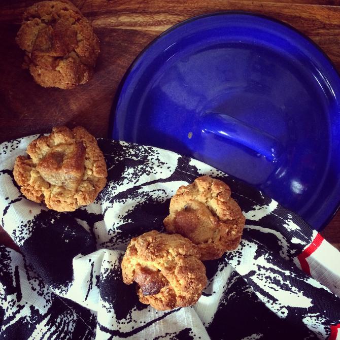 Caramel Thumb Print Cookies