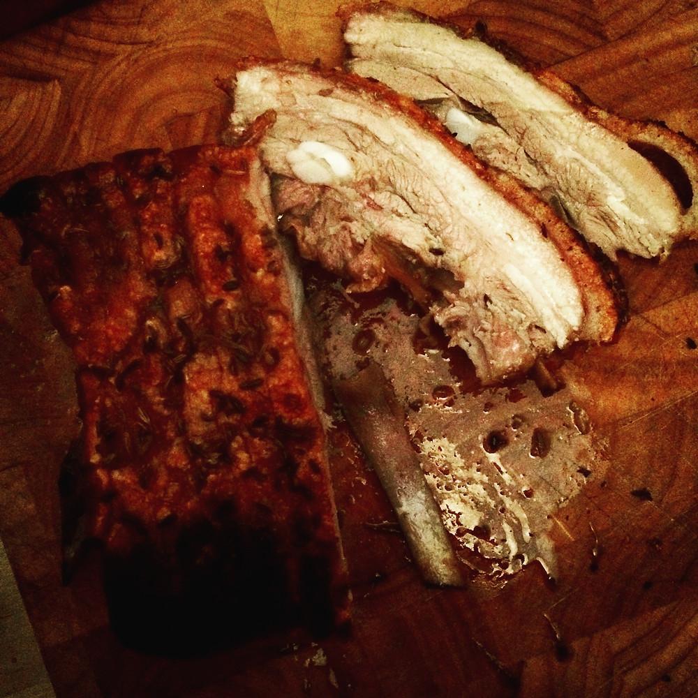Pork Belly with crackling