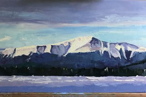 """""""Mt. Katahdin"""" by Mary Mraz"""