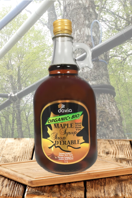 1L - Organic Maple Syrup