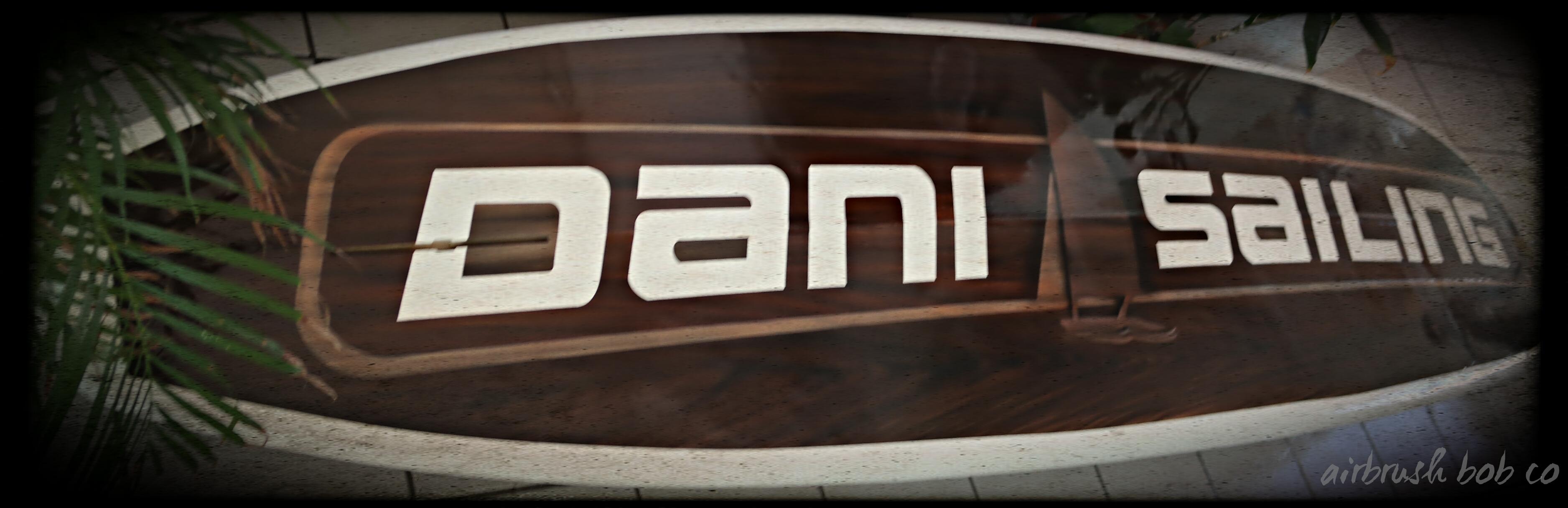 Dani Sailing Paddle Board