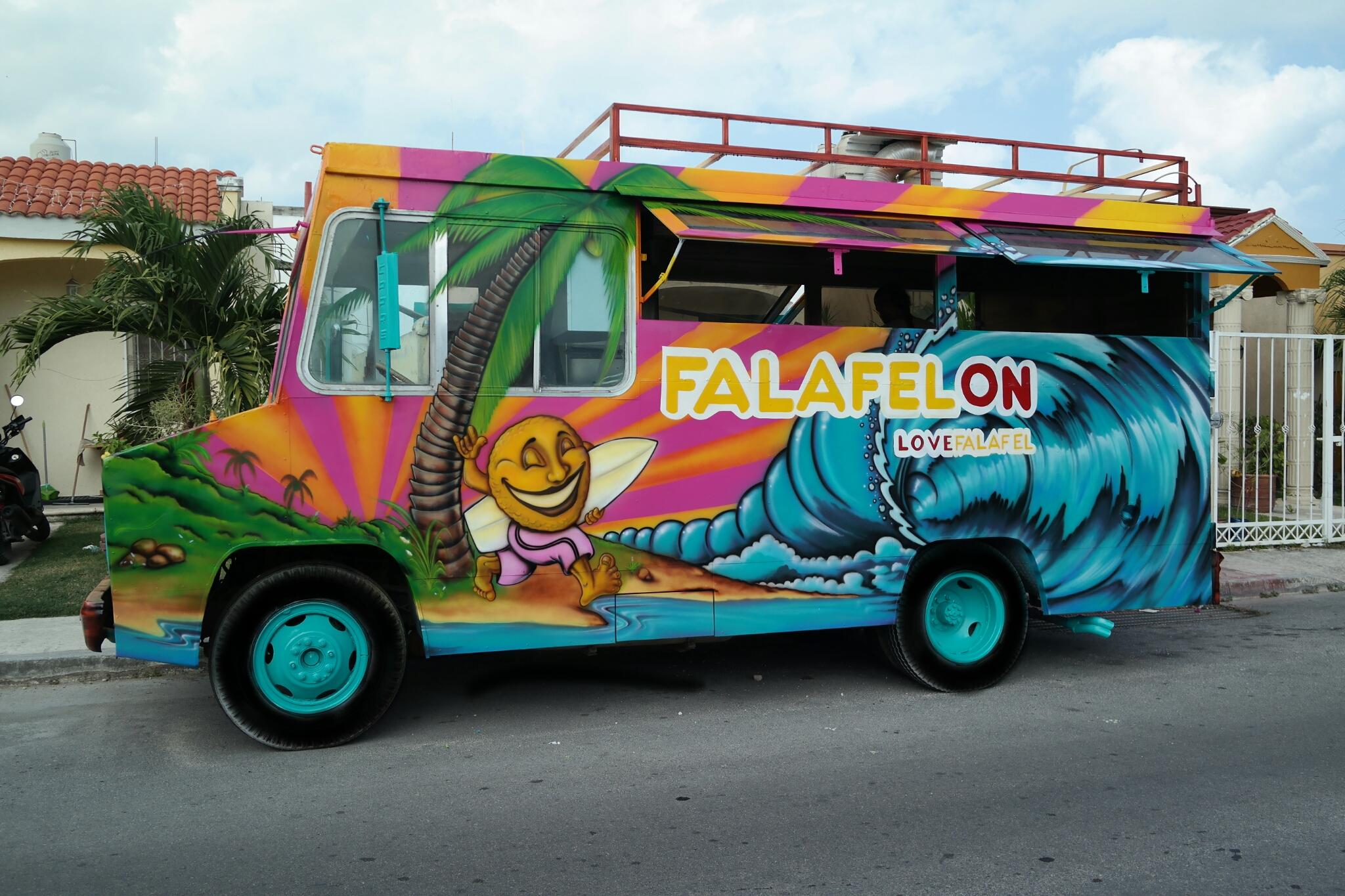 Falafelon Food Truck