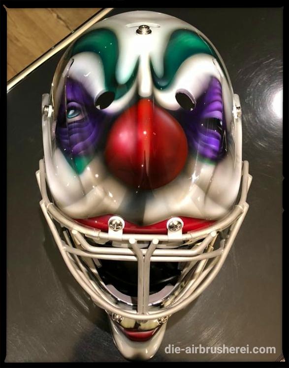 """Goalie Maske """"Börse Klown"""""""