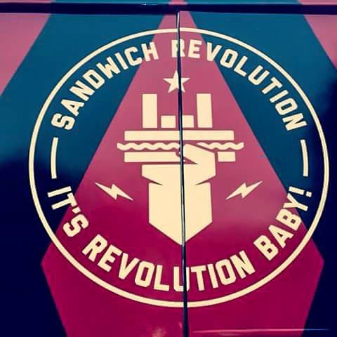 Airbrush auf Food Truck__Sandwich Revolution__#DieAirbrusherei_Airbrush Bob Co