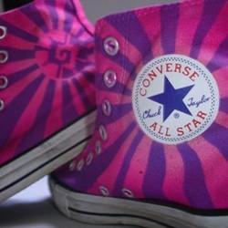 Airbrush auf Converse Sneakers__Hunab-Ku__#DieAirbrusherei_Airbrush Bob Co