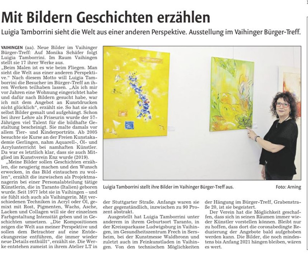 """Ausstellung """"Bürgertreff"""""""