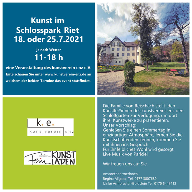 Ausstellung Kunst im Schlosspark Seite 1