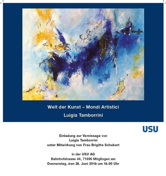 """Ausstellung """"Welt der Kunst-Mondi Artistici"""" 2018"""