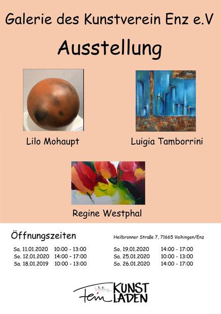 """Ausstellung """"Feinkunstladen - Januar 2020"""""""