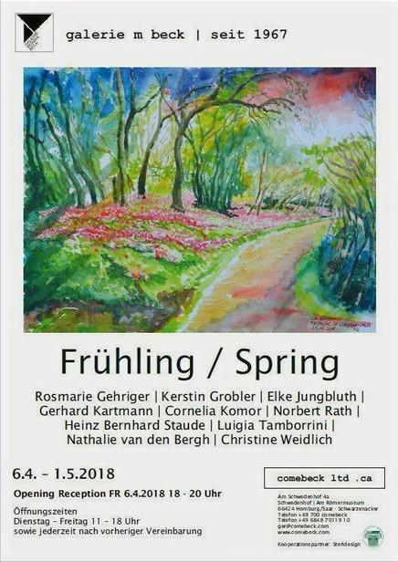 """Ausstellung """"Frühling / Spring"""" 2018"""
