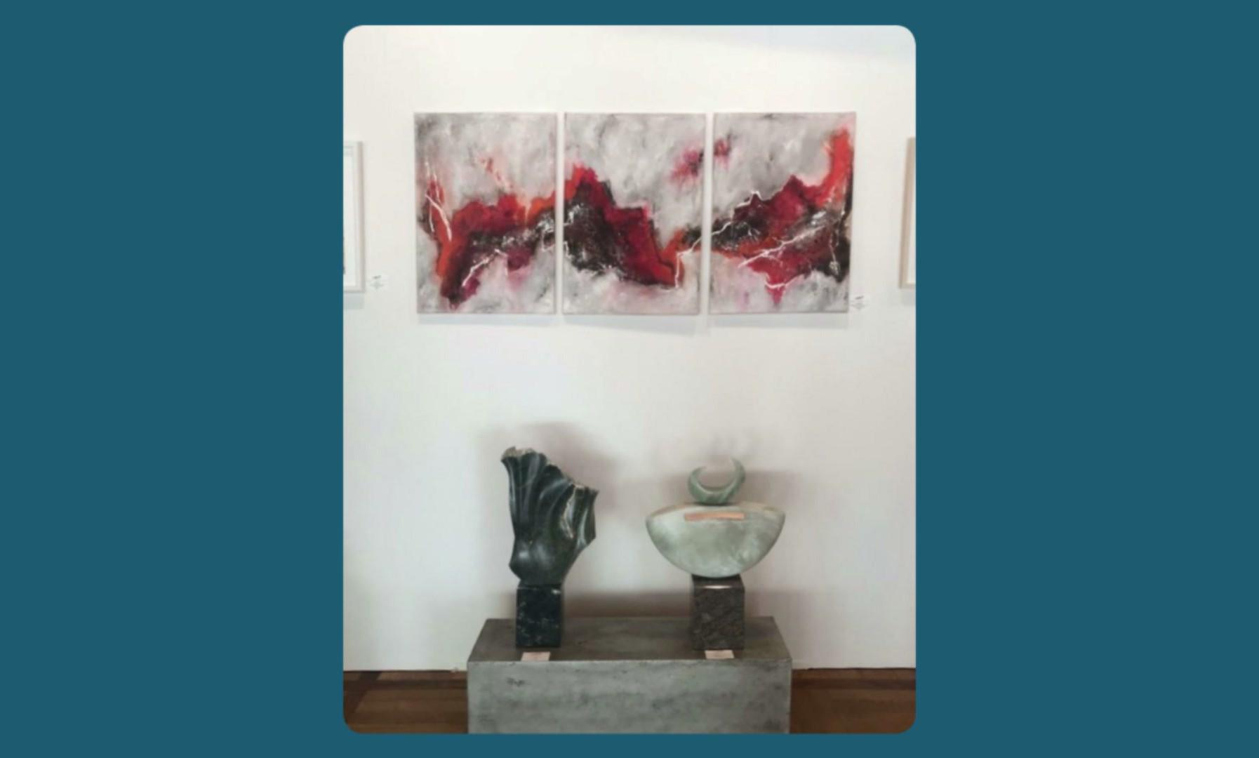 Kunstmesse Waldbronn/ /art exibition Waldbronn / fiera d´arte Waldbronn