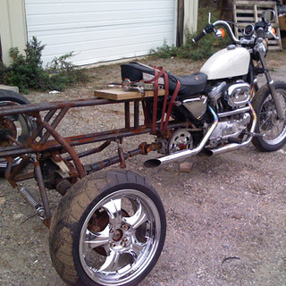 3 Wheel Leaning Motorcycle proof of Concept