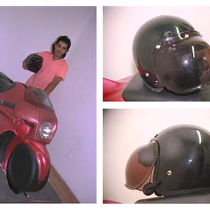 VR Motorcycle and Helmet 1993