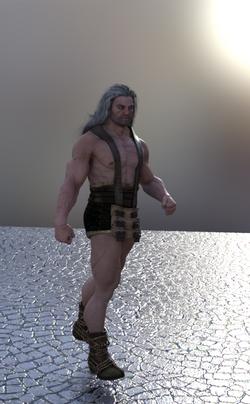 White Haired Warrior