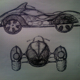 4 Wheel Leaning Motorcycle Concept