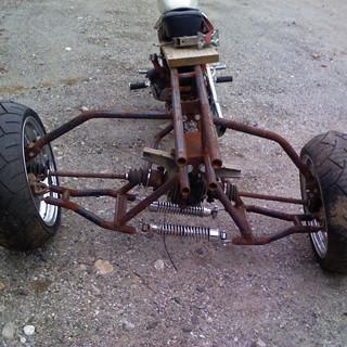 Rear Wheel Leaning Frame